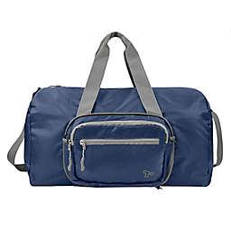 Travelon® 2-in-1 Convertible Crossbody Duffle in Blue