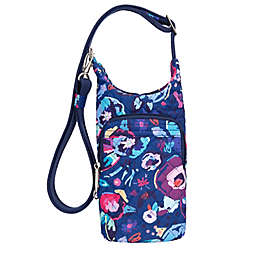 Travelon® Boho Floral Anti-Theft Water Bottle Tote