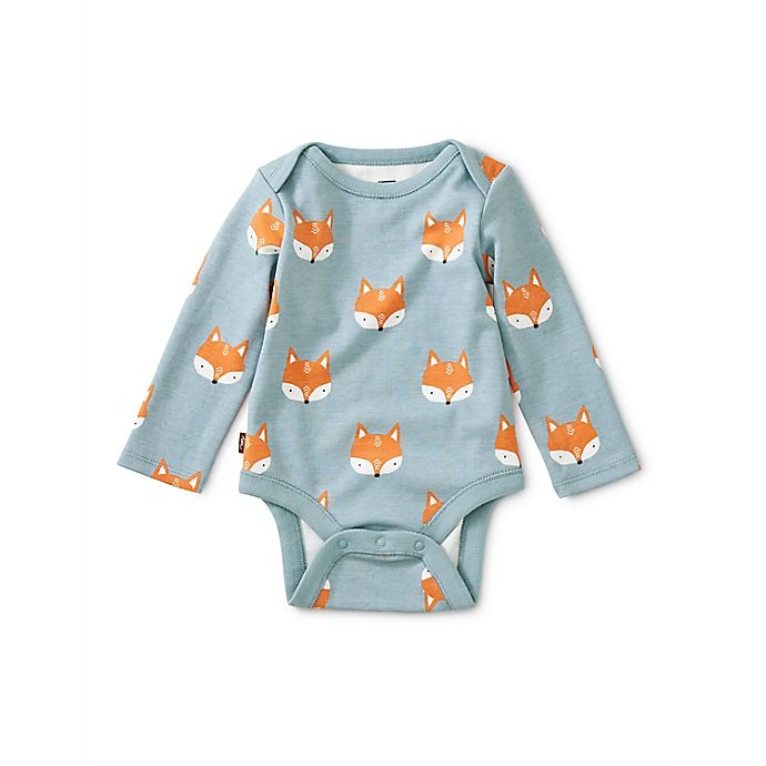 Alternate image 1 for Tea Collection Foxes 3-Pack Bodysuits