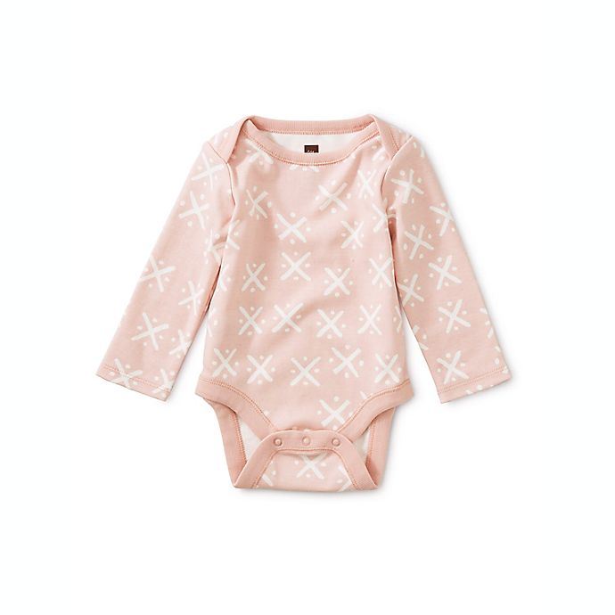 Alternate image 1 for Tea Collection 3-Piece Soft Geo Long Sleeve Bodysuits