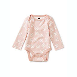 Tea Collection Newborn 3-Piece Soft Geo Long Sleeve Bodysuits