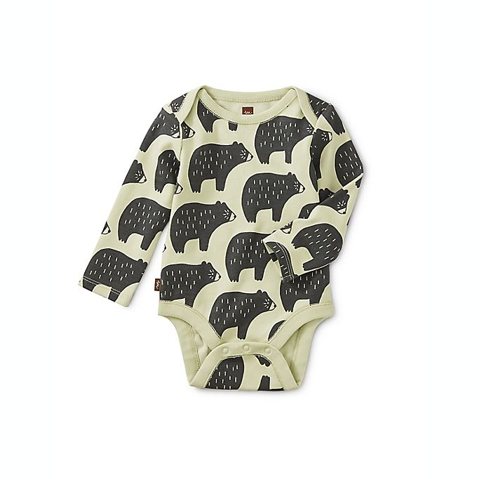 Alternate image 1 for Tea Collection Cuddly Cubs 3-Pack Bodysuits
