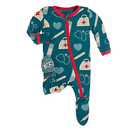 KicKee Pants® Oasis Medicine Footie Pajama