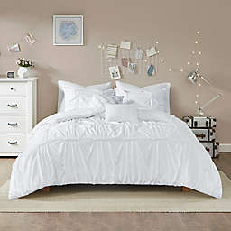 Intelligent Design Benny Twin/Twin XL Duvet Cover Set in White