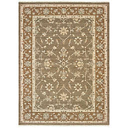 Amaya Rugs Alijah Jamestown Rug in Grey