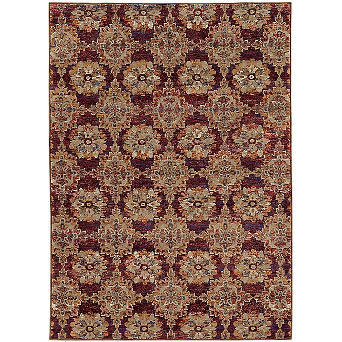 Alternate image 1 for Amaya Rugs Allington Walker Rug in Red