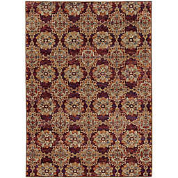 Amaya Rugs Allington Walker Rug in Red