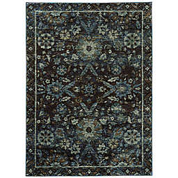 Amaya Rugs Allington Wesley Rug in Navy