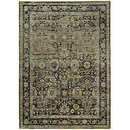 Amaya Rugs Allington Wescott Rug in Green