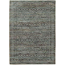 Amaya Rugs Allington Waterford Rug in Blue
