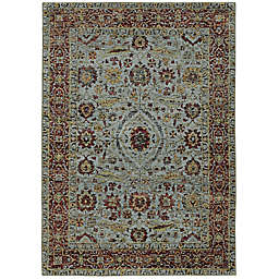 Amaya Rugs Allington Willow Rug in Blue