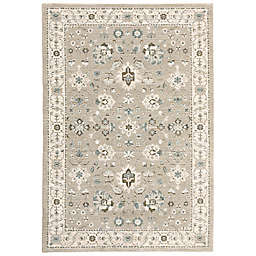 Amaya Rugs Allington Quailwood 7'10 x 10'10 Area Rug in Beige