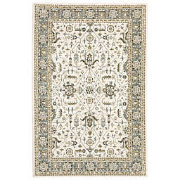 Amaya Rugs Allington Roosevelt Rug in Ivory