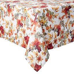Autumn Trail 60-Inch x 102-Inch Oblong Twill Tablecloth