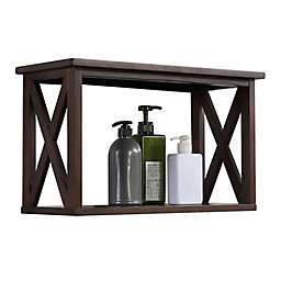 WALL SHELF BROWN