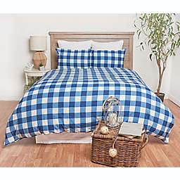 C&F Home™ Bufflao Check 3-Piece Duvet Cover Set