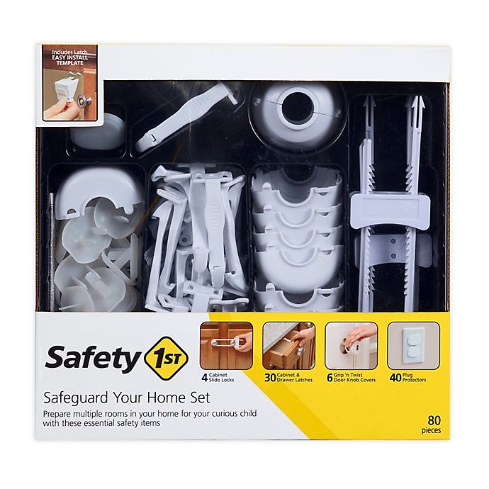Alternate image 1 for Safety 1ˢᵗ® 80-Piece Home Safeguarding Set