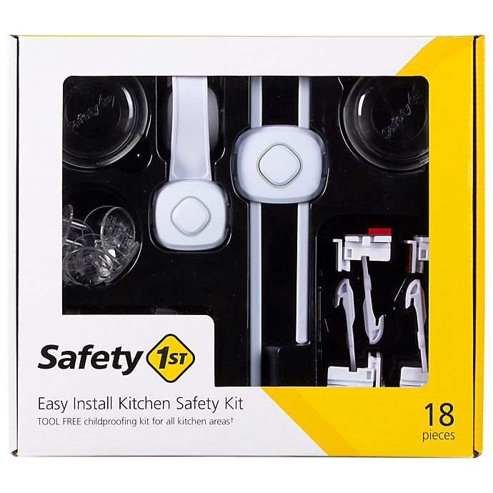 Alternate image 1 for Safety 1st® Easy Install Kitchen Safety Kit