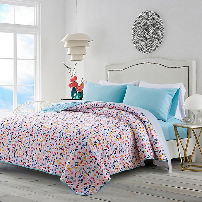 Alternate image 1 for Terazzo 4-Piece Reversible Full XL Quilt Set