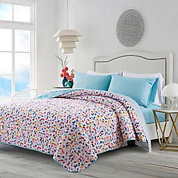 Terazzo 4-Piece Reversible Full XL Quilt Set