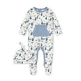 Burt's Bees Baby® 2-Piece Organic Cotton Baby Bear Jumpsuit and Hat Set