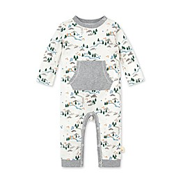 Burt's Bees Baby® Campgrounds Jumpsuit in Eggshell