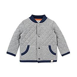 Burt's Bees Baby® Quilted Jacket in Heather Grey