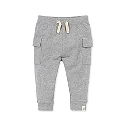 Burt's Bees Baby® French Terry Cargo Pants in Grey
