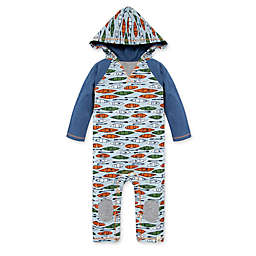 Burt's Bees Baby® Without A Paddle Raglan Jumpsuit in Blue