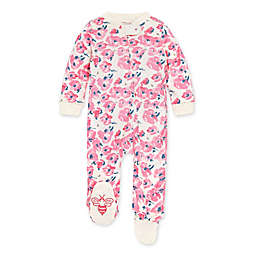 Burt's Bees Baby® Bold Blossoms Footie in Eggshell
