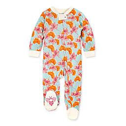 Burt's Bees Baby® Wild Autumn Footie in Floral