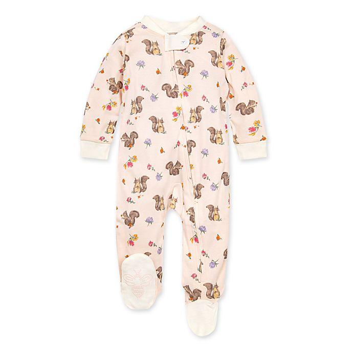 Alternate image 1 for Burt's Bees Baby® Sharing Squirrels Organic Cotton Sleep 'N Play