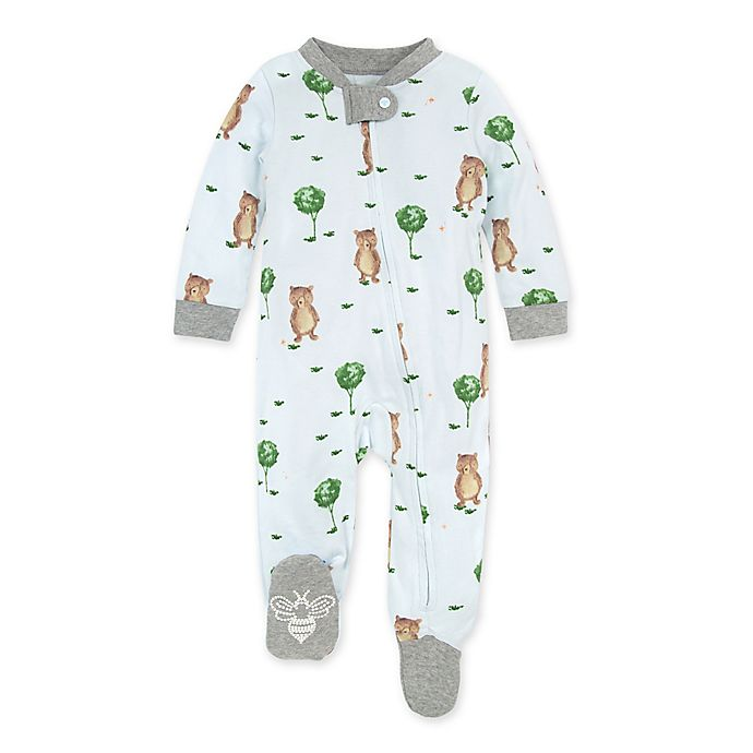 Alternate image 1 for Burt's Bees Baby® Storybook Bear Organic Cotton Sleep & Play