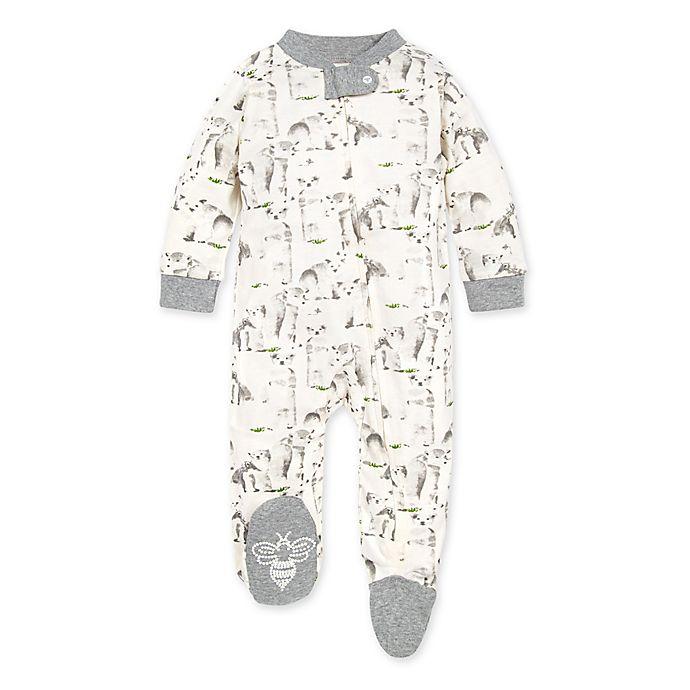 Alternate image 1 for Burt's Bees Baby® Polar Explorer Organic Cotton Footie