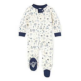 Burt's Bee's Baby® Wild Wilderness Organic Cotton Footie in Eggshell
