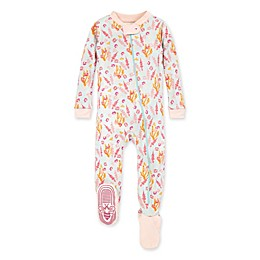 Burt's Bees Baby® Wyoming Wildflowers Organic Cotton Sleeper in Pearl