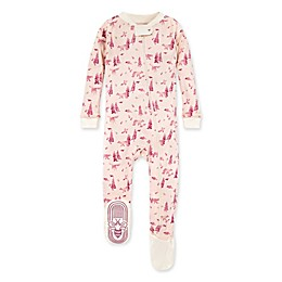 Burt's Bees Baby® Baby Bear Organic Cotton Sleeper in Ocean/Mist