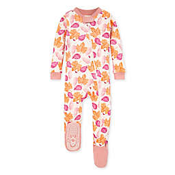 Burt's Bees Baby® Seasons Change Footed Pajama in Rose Quartz