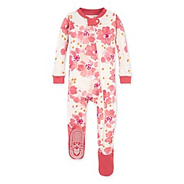 Burt's Bees Baby® Sprinkling Petals Cotton Sleeper in Pink