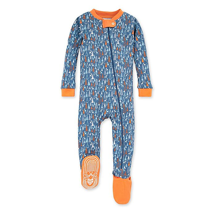 Alternate image 1 for Burt's Bees Baby® Forest Frenzy Organic Cotton Sleeper