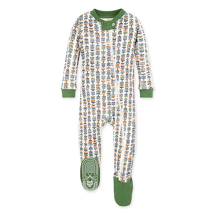 Alternate image 1 for Burt's Bees Baby® Trail Markers Organic Cotton Sleeper