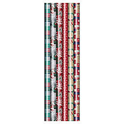 Winter Wonderland 40-Inch Jumbo Traditional 2020 Assorted Wrapping Paper