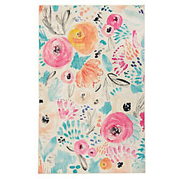 Mohawk Prismatic Watercolor Floral Multicolor Rug