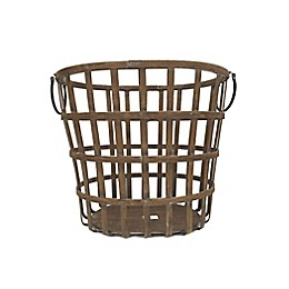Bee & Willow™ Home 19-Inch Bamboo Basket in Brown
