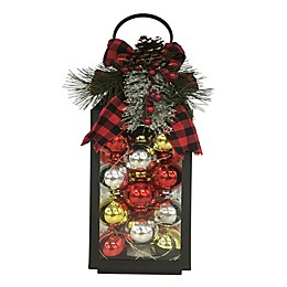 19-Inch LED Christmas Ornament Lantern