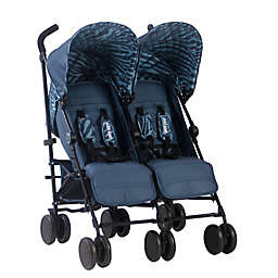 Your Babiie AM:PM By Christina Milian Chelsea Double Stroller in Tiger