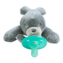 Philips Avent Soothie Snuggle Seal Pacifier in Grey