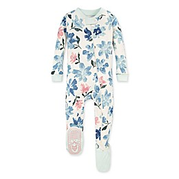 Burt's Bees Baby® Botanical Gardens Footed Pajama in Blue