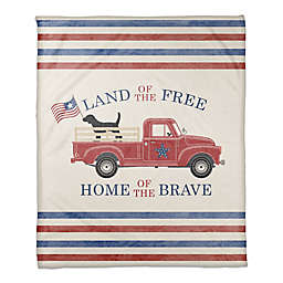 American Truck 50x60 Throw Blanket