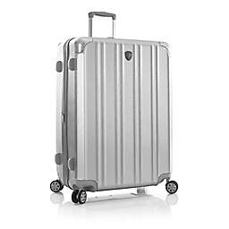 Heys® DuoTrak 30-Inch Hardside Spinner Checked Luggage in Silver